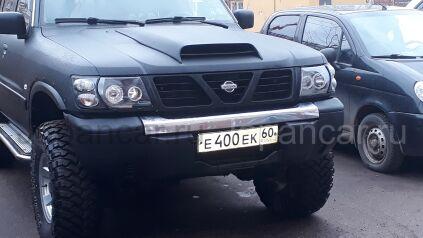 Фара на Nissan Patrol во Владивостоке
