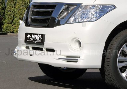 Губа на Nissan Patrol во Владивостоке