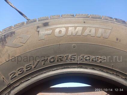 Зимние шины Китай Foman polar 235/70 16 дюймов б/у в Шадринске