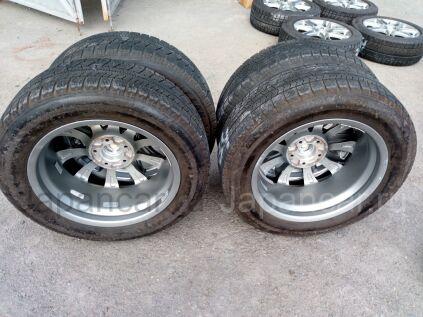 Диски 17 дюймов Bridgestone ширина 7 дюймов вылет 45 мм. б/у в Челябинске
