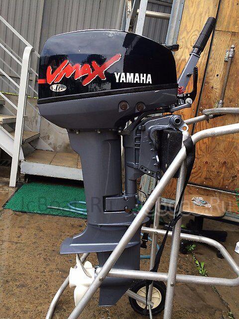мотор подвесной YAMAHA 9,9 VMAXJR 2011 года
