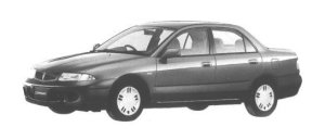 Mitsubishi Carisma LX 1998 г.