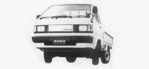 Toyota Liteace Truck SINGLE JUST LOW 750KG 2000 DIESEL DX 1993 г.