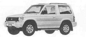 Mitsubishi Pajero METAL TOP XP 1992 г.