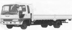 Hino Ranger CRUISING FD WIDE CAB WIDE BODY 4T 1990 г.