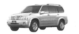 Suzuki Grand Escudo  2004 г.