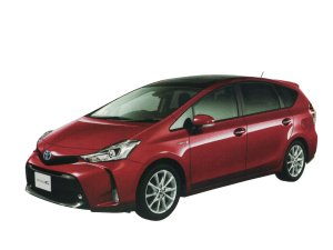 Toyota Prius Alpha G Touring Selection 5-seater 2020 г.