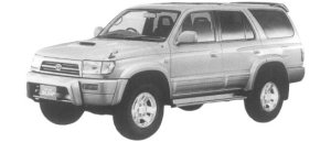 Toyota Hilux Surf 3.0 DIESEL TURBO WITH INTERCOOLER SSR-G 1997 г.