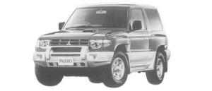 Mitsubishi Pajero METAL TOP WIDE ZR 1997 г.