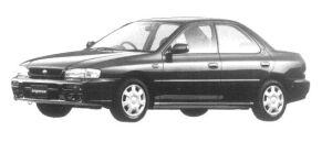Subaru Impreza HARD TOP SEDAN CS EXTRA 1997 г.
