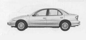 Toyota Cavalier SEDAN 2.4G 1999 г.