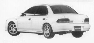 Subaru Impreza PURE SPORTS SEDAN WRX Type RA 1999 г.