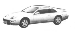 Nissan Fairlady Z 300ZS 2by2 T Bar Roof 1995 г.