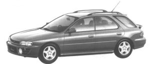 Subaru Impreza 4WD SPORT WAGON 1.8L HX EDITION-S 1994 г.