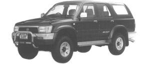 Toyota Hilux Surf 3000 DIESEL TURBO SSR-X WIDE BODY 1994 г.