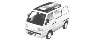 Suzuki Every TURBO RZ SUPER MULTI ROOF 1994 г.