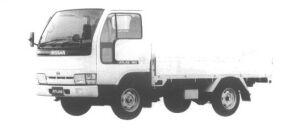 Nissan Atlas 1.5T LONG FULL SUPER LOW SINGLE TIRE DX 1994 г.