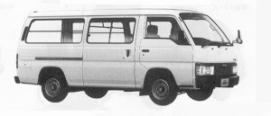 Nissan Homy VAN LONG BODY 5DOOR 2700 DIESEL DX 1991 г.