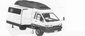 Toyota Townace CAMPMAIT 1991 г.