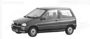 Subaru REX 3DOOR F-S 1991 г.