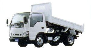 Isuzu Elf Smoother-E, Reinforced Dump Truck 2 ton, High Floor, Standard Body 2005 г.