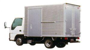 Nissan Atlas 20 Aluminum Colgate Dry Van with side door 2005 г.