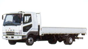 Mitsubishi Fuso  Fighter 4-ton, Turbo with intercooler Truck 2005 г.