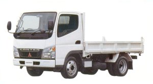 Mitsubishi Fuso CANTER All Low 4WD Standard Dump 2005 г.