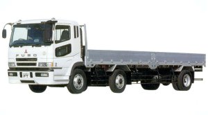 Mitsubishi Fuso SUPER GREAT FT 14.6-ton Turbo with Intercooler Truck 2005 г.