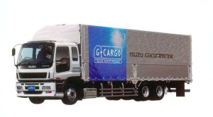 Isuzu Gigamax G-Cargo Smoother-G CYL (6X2) 272kW (370PS) Intercooler Turbo, 4bag Air-suspension 2005 г.
