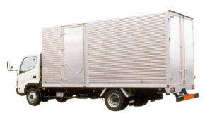 Hino Dutro Wide Cab,   Aluminium  Van 2005 г.