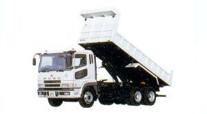 Mitsubishi Fuso SUPER GREAT FV 9.8-ton, Reinforced Dump 2005 г.
