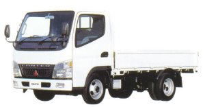 Mitsubishi Fuso CANTER GUTS All Low Floor, Long Body Truck 2005 г.