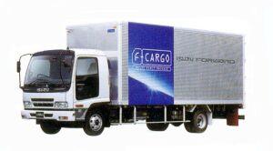 Isuzu Forward Short-Cab Smoother-F 140kW (190PS)  Intercooler Turbo Dry Van 2005 г.