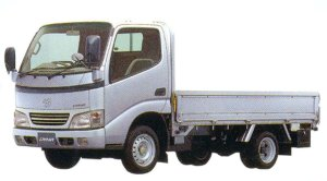"""Toyota Dyna CARGO 2WD, Long Deck, Just Low, 1.5ton """"G Package"""" 2005 г."""