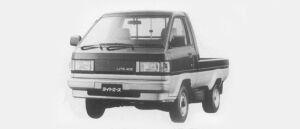 Toyota Liteace Truck SUPER SINGLE, JUST LOW 750KG 1.5 SUPER X 1996 г.