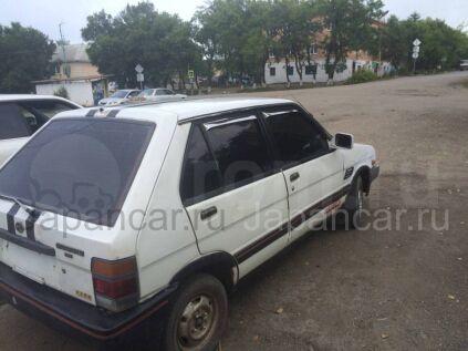 Subaru Justy 1986 года во Владивостоке